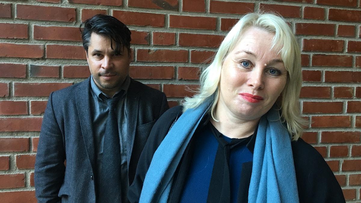 Ann Heberlein och Martin Wicklin