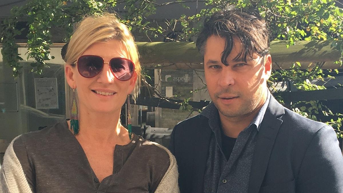 Natasha Illum Berg och Martin Wicklin
