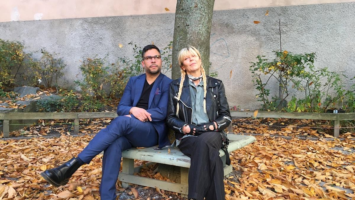 Martin Wicklin och Kajsa Grytt