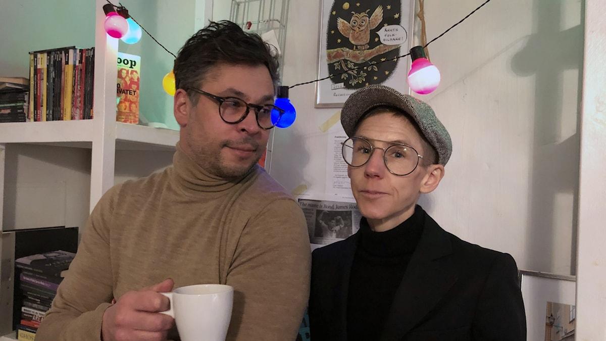 Stina Oscarson och Martin Wicklin