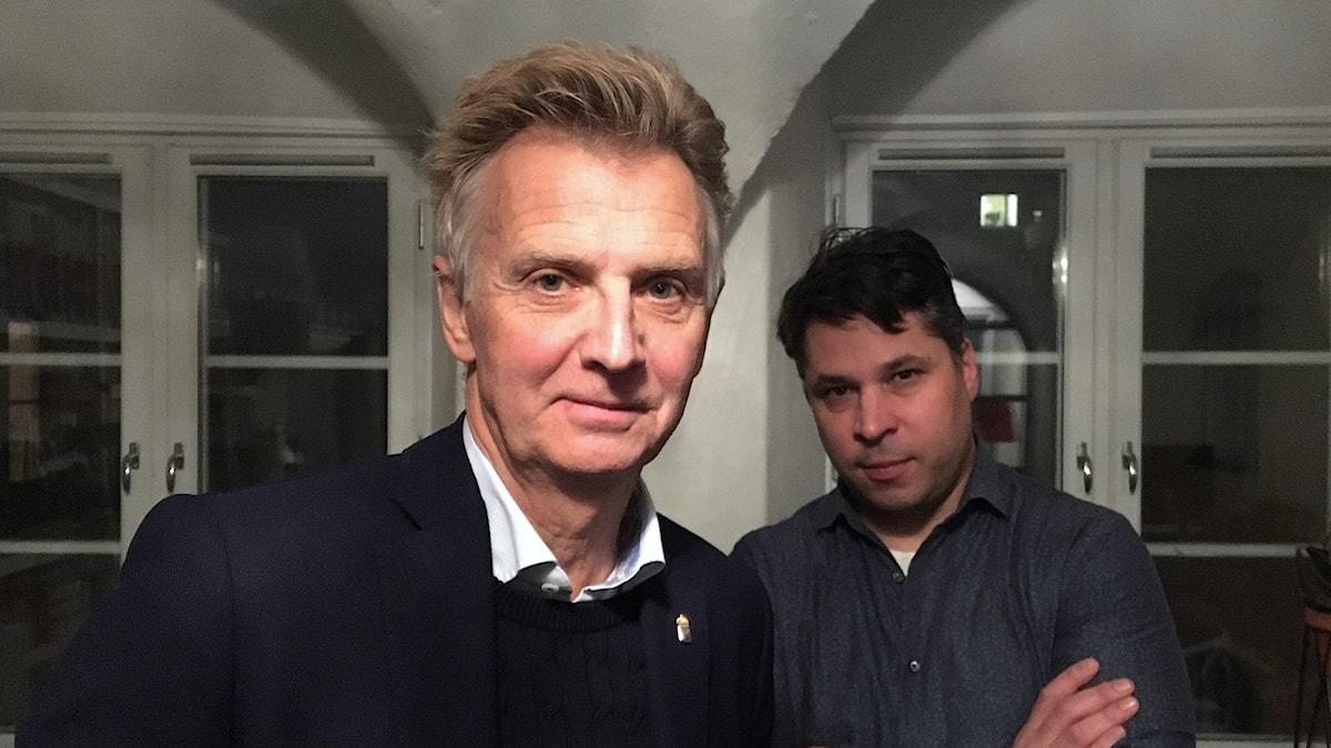 Anders Danielsson ( t v) och Martin Wicklin (t h)