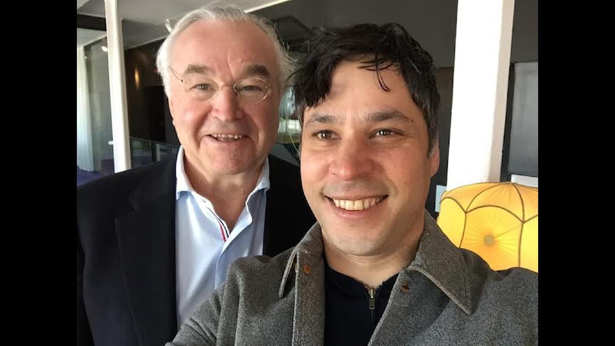 Sven Hagströmer och Martin Wicklin Foto: Martin Wicklin