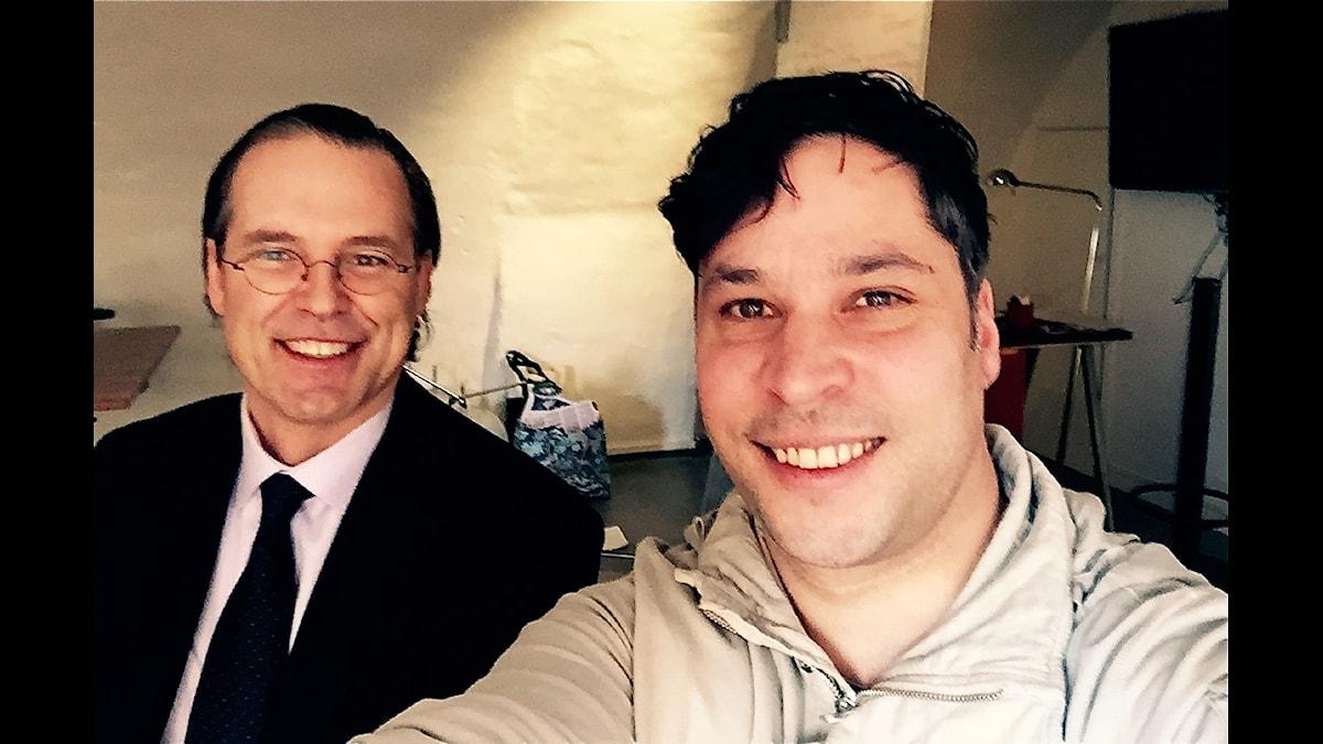 Anders Borg och Martin Wicklin