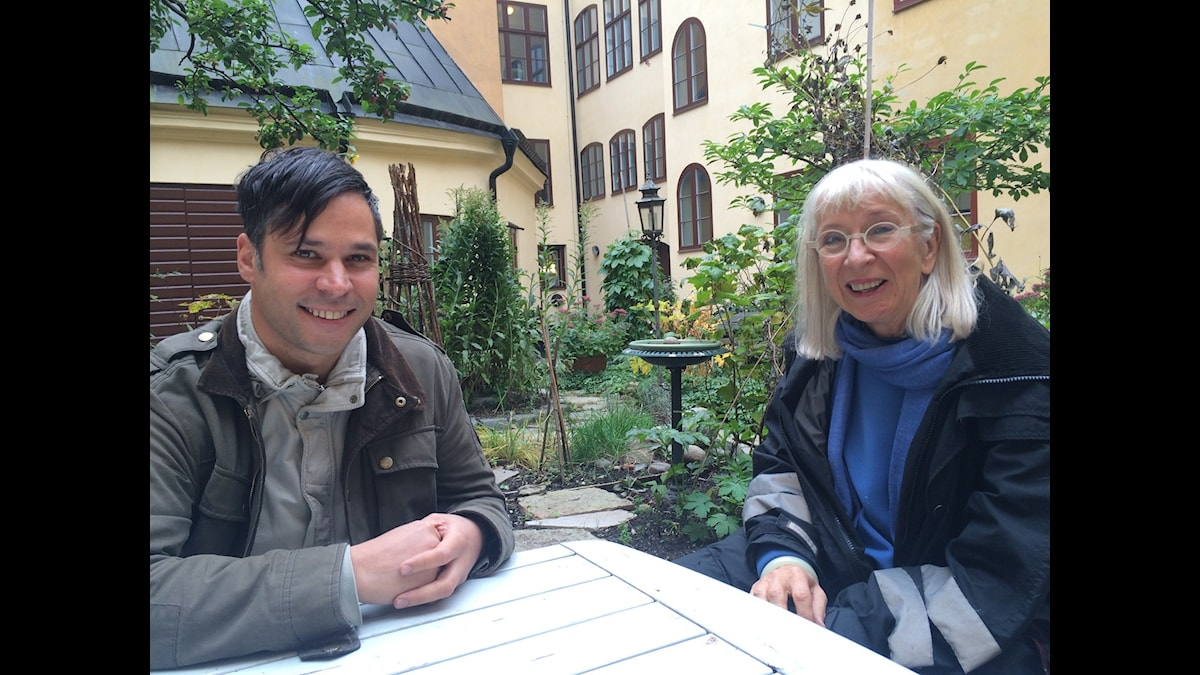 Martin Wicklin och Suzanne Osten