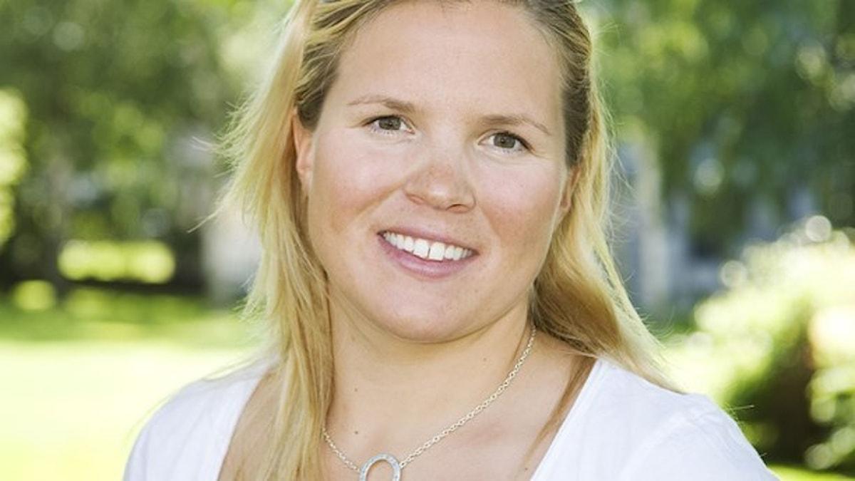 Anja Pärson Foto: Johan Candert