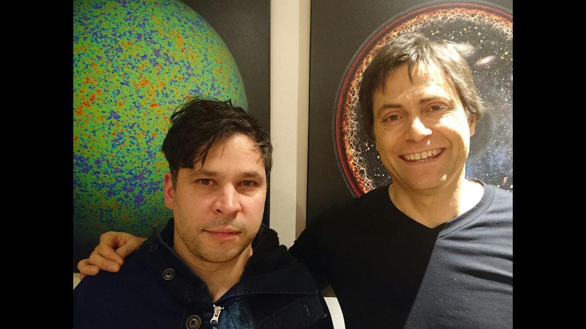 Martin Wicklin (t v) och Max Tegmark (t h).