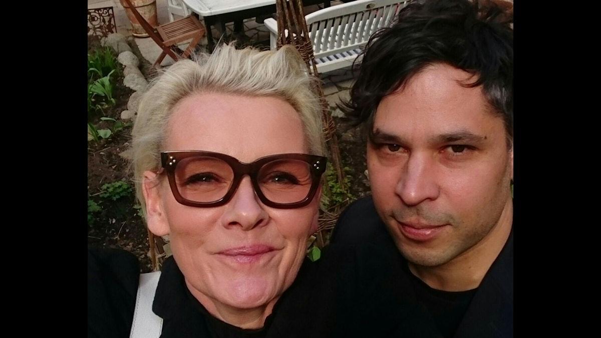 Eva Dahlgren och Martin Wicklin