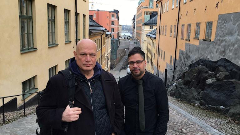 Robert Aschberg och Martin Wicklin