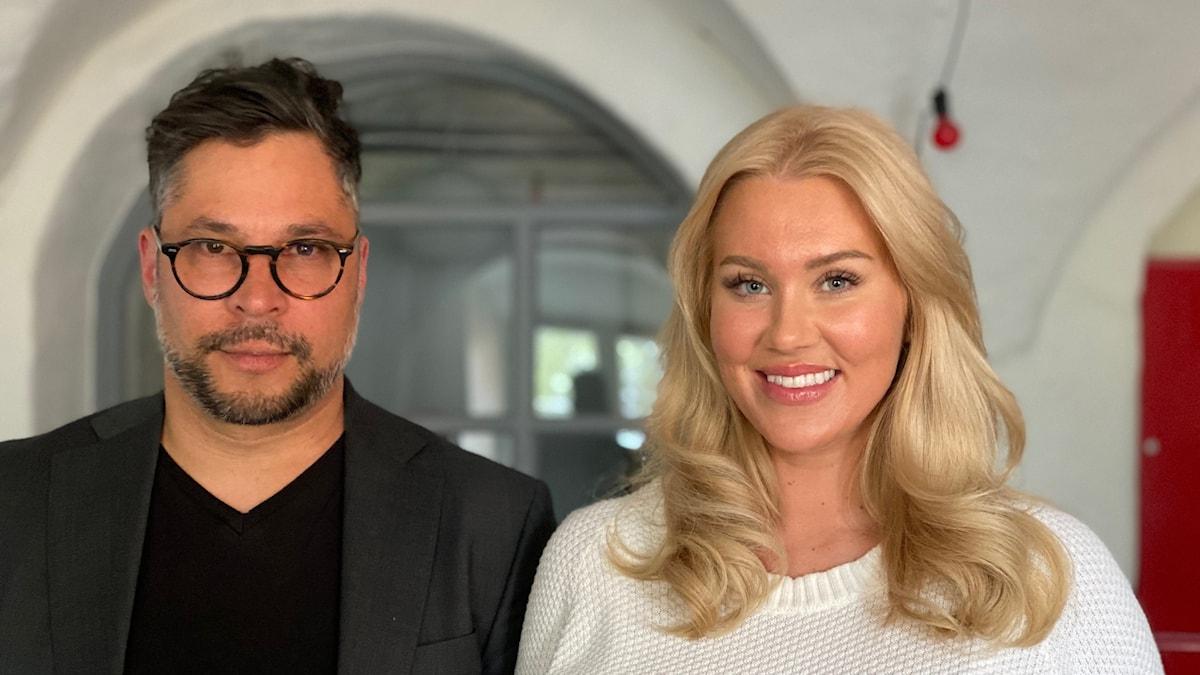 Isabella Löwengrip och Martin Wicklin