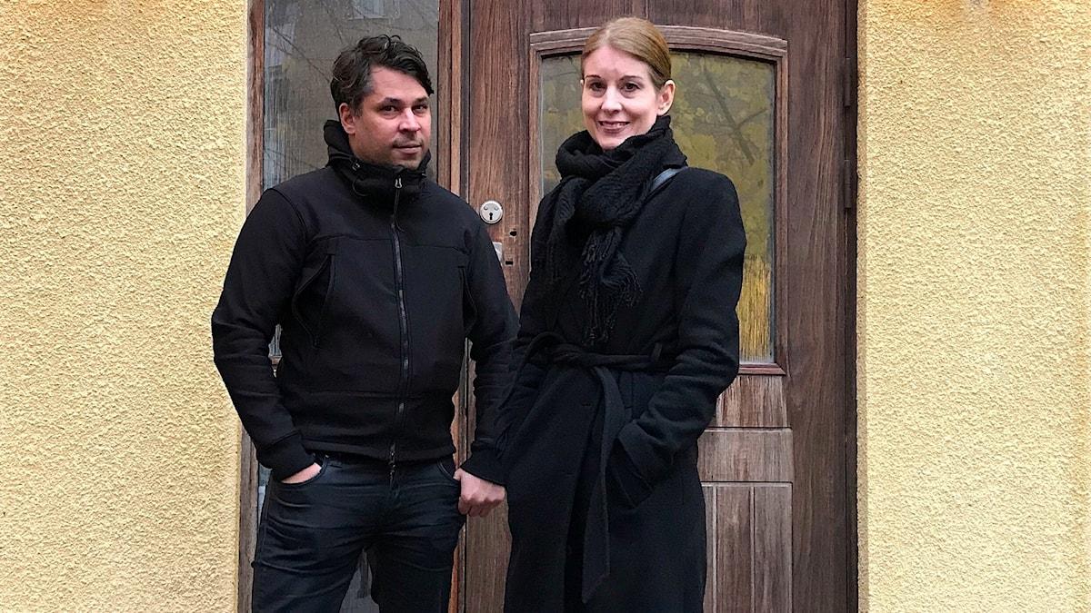 Linda Skugge och Martin Wicklin