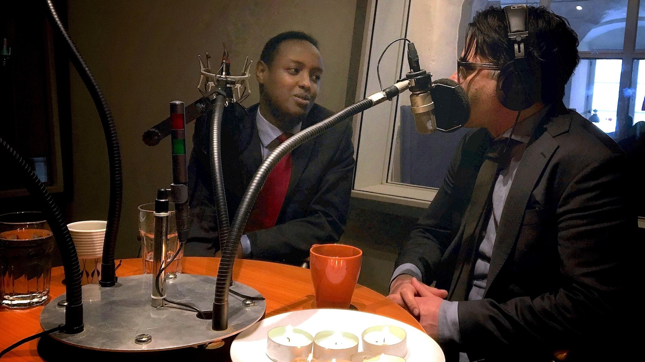 Ahmed Abdirahman – från inbördeskrigets Somalia till framtida makthavare i Sverige