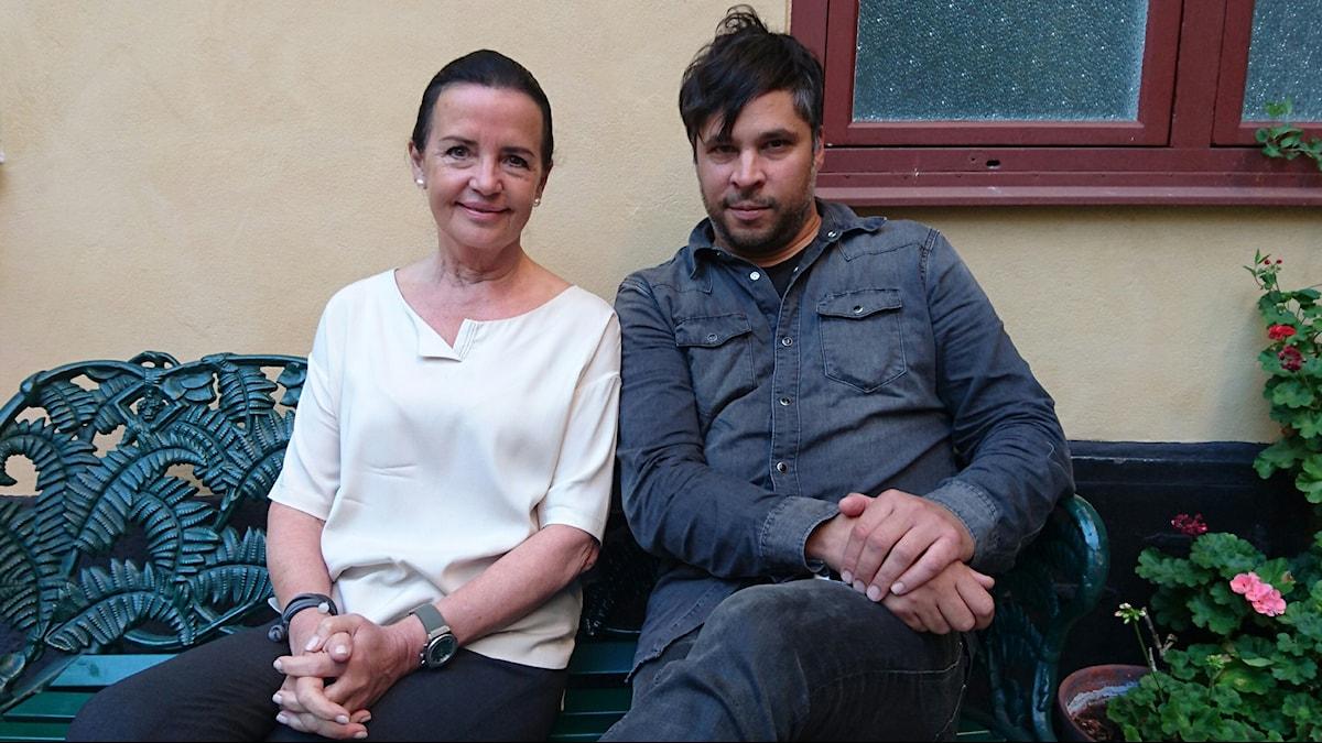 Anne Ramberg och Martin Wicklin