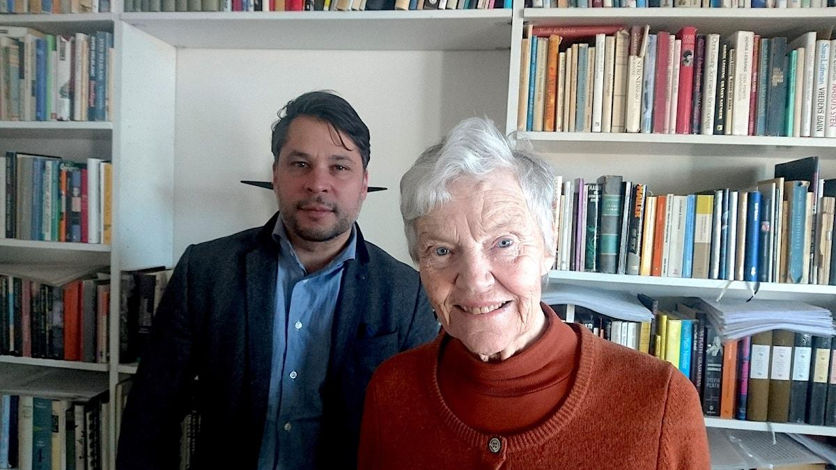 Märta Tikkanen och Martin Wicklin