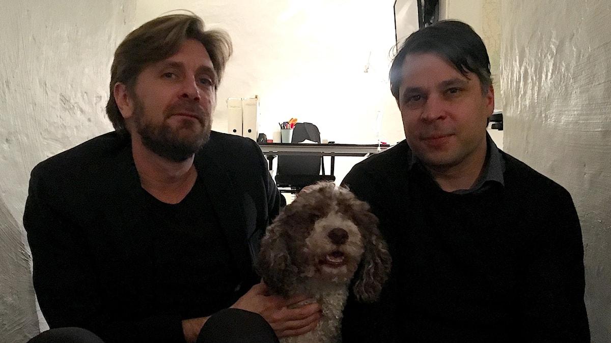Ruben Östlund (t v) och Martin Wicklin (t h)