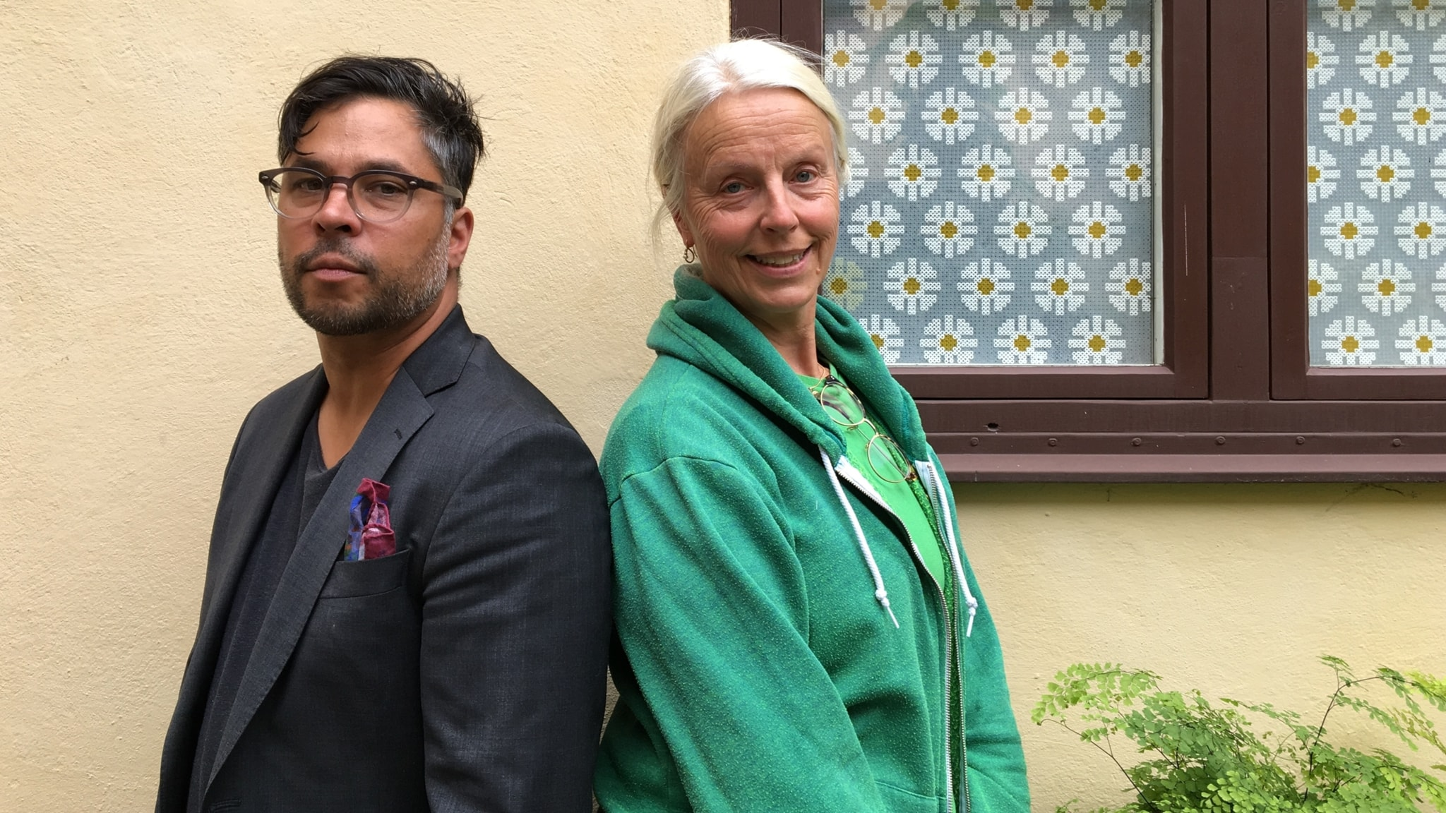 Anne Sofie von Otter och Martin Wicklin