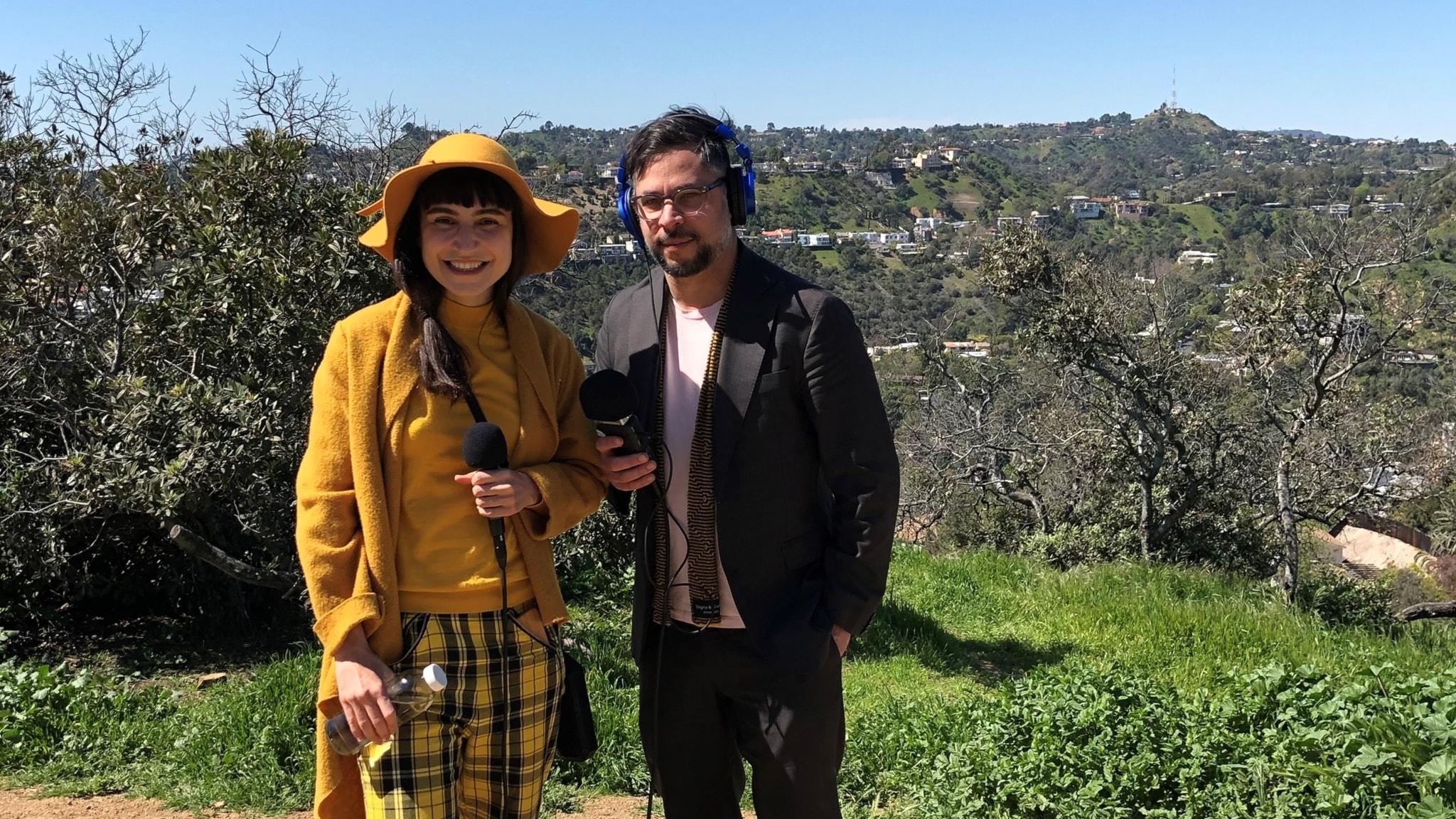Laleh Pourkarim och Martin Wicklin