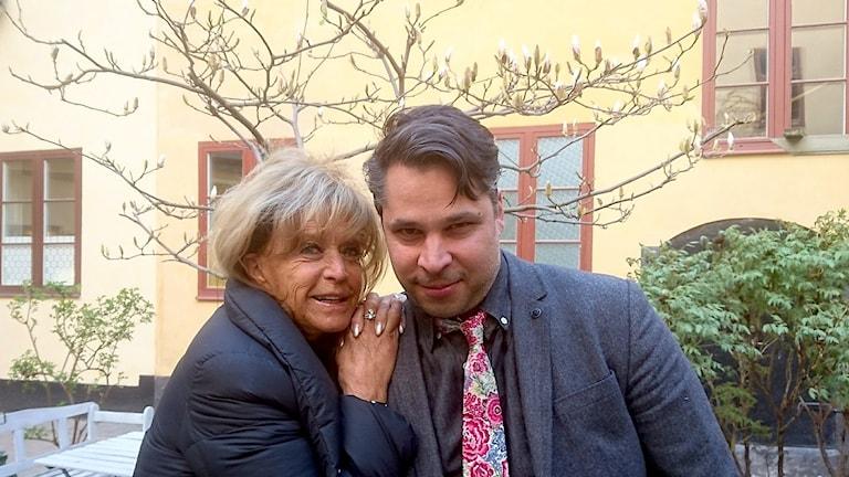 Barbro Lill-Babs Svensson och Martin Wicklin