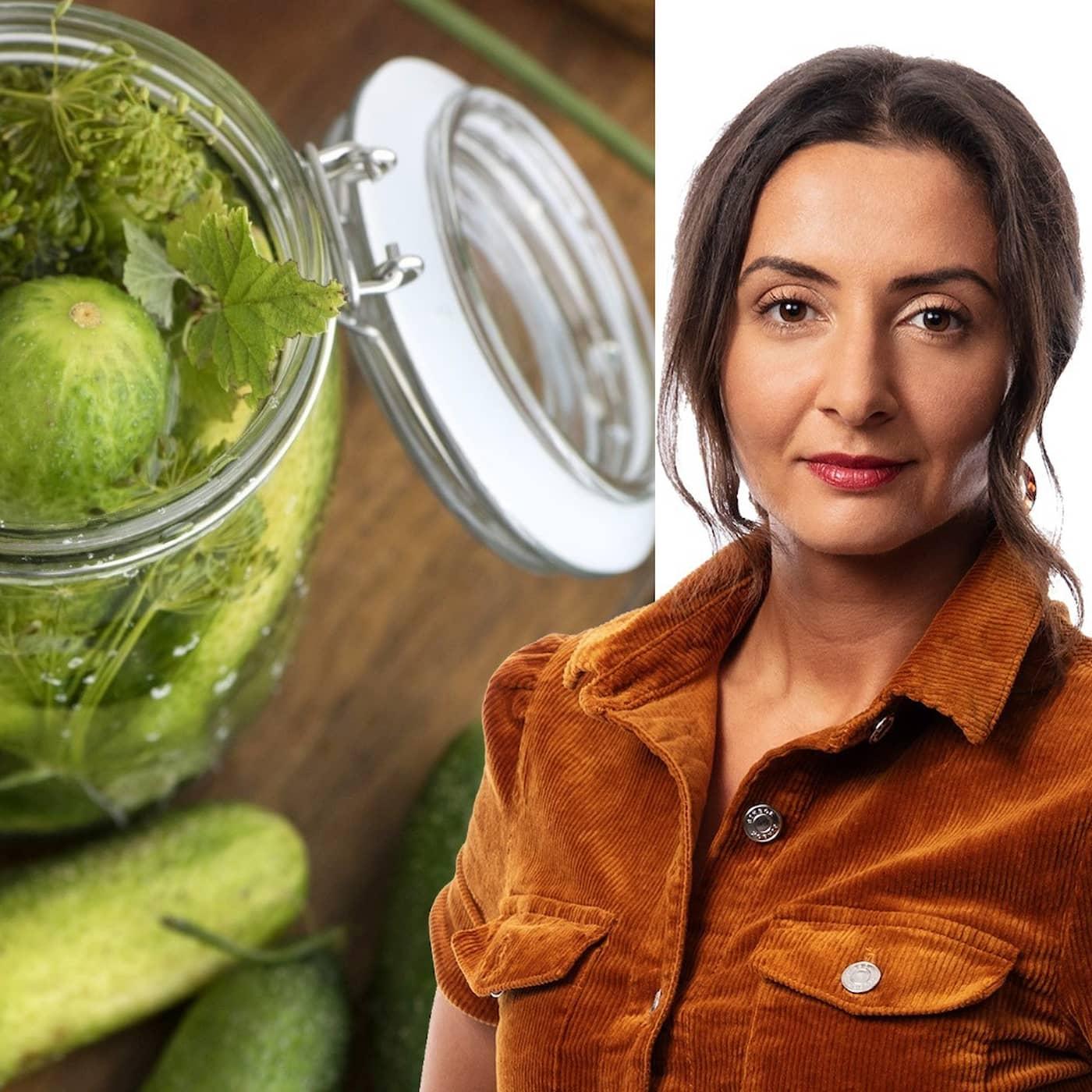 Lycka är att äta polska saltgurkor: Lubna El-Shanti