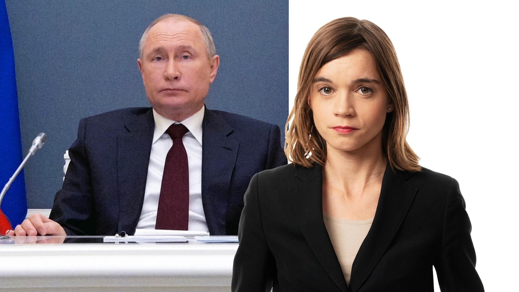 Rysslands president Vladimir Putin/Johanna Melén.