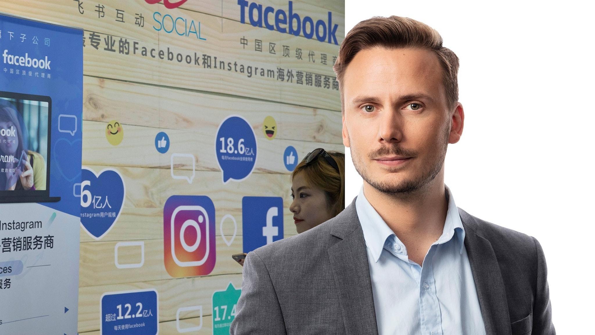 Björn Djurberg sociala medier i kina