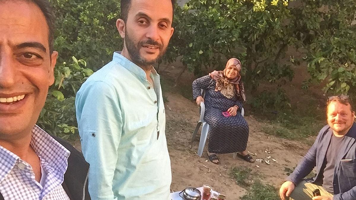 Lantbrukarfamilj i Gaza