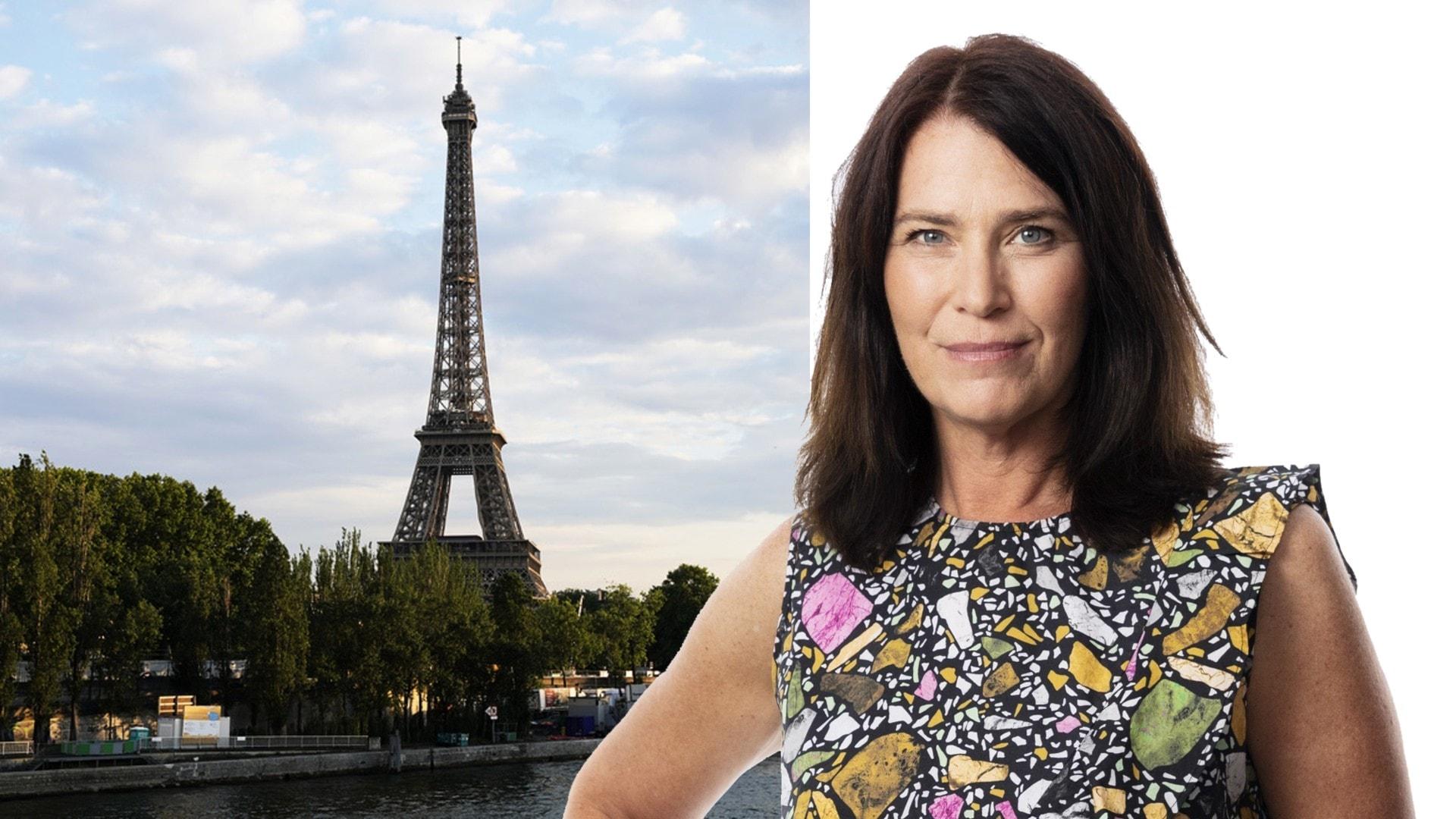 Dödsstöten för kindpussen? Margareta Svensson, Paris