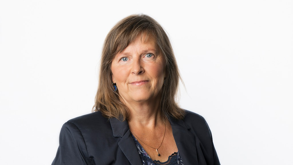 Maria Persson Löfgren. Foto: Mattias Ahlm/Sveriges Radio.