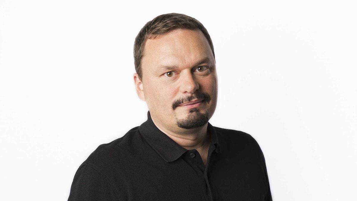 Roger Wilson. Foto: Mattias Ahlm/Sveriges Radio.