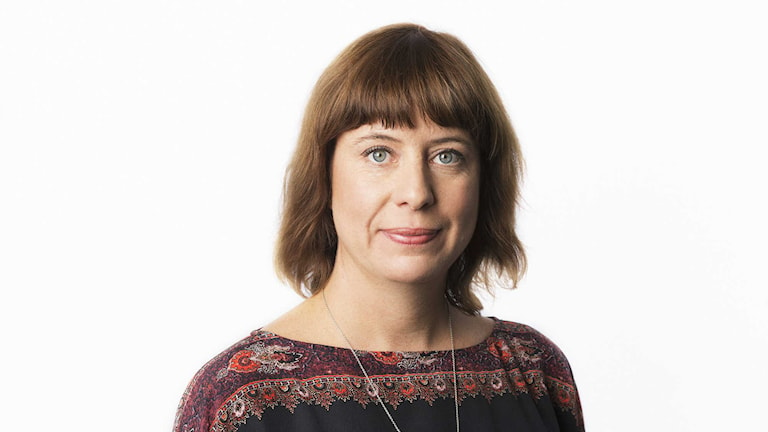 Katja Magnusson. Foto: Mattias Ahlm/Sveriges Radio