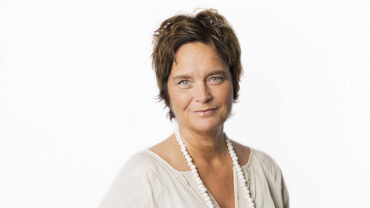 Agneta Furvik. Foto: Mattias Ahlm/Sveriges Radio.