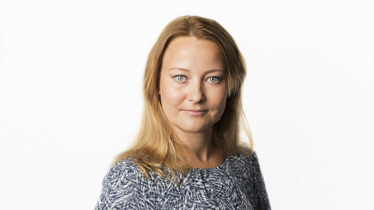 Anna Landelius. Foto: Mattias Ahlm/Sveriges Radio.
