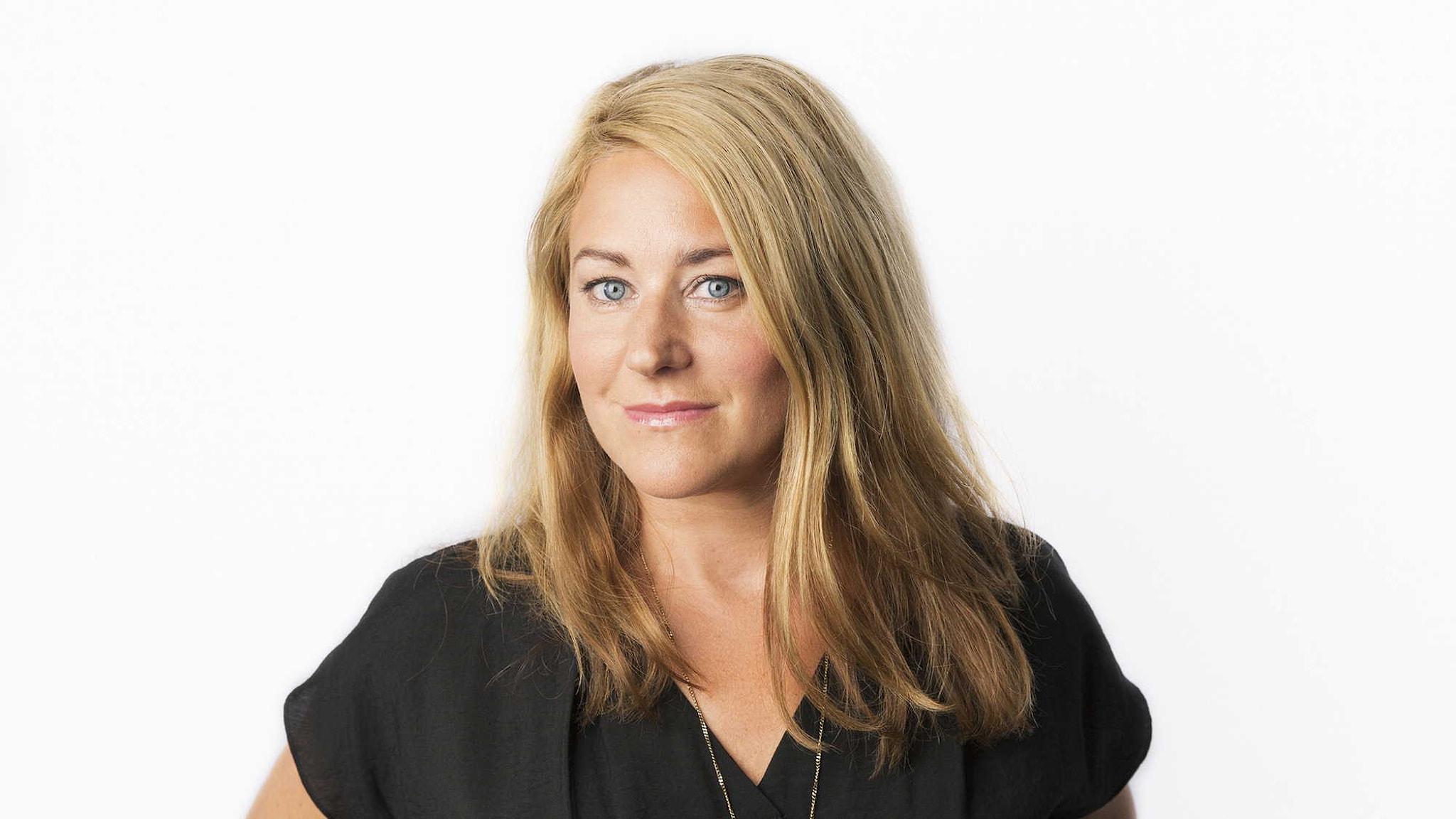 Beatrice Janzon. Foto: Mattias Ahlm/Sveriges Radio.
