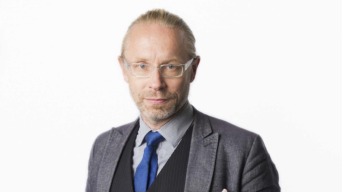 Daniel Alling. Foto: Mattias Ahlm/Sveriges Radio.