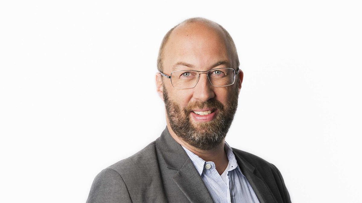 Jens Möller. Foto: Mattias Ahlm/Sveriges Radio.