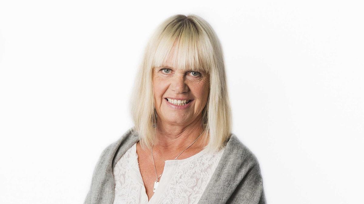 Margita Boström. Foto: Mattias Ahlm/Sveriges Radio.
