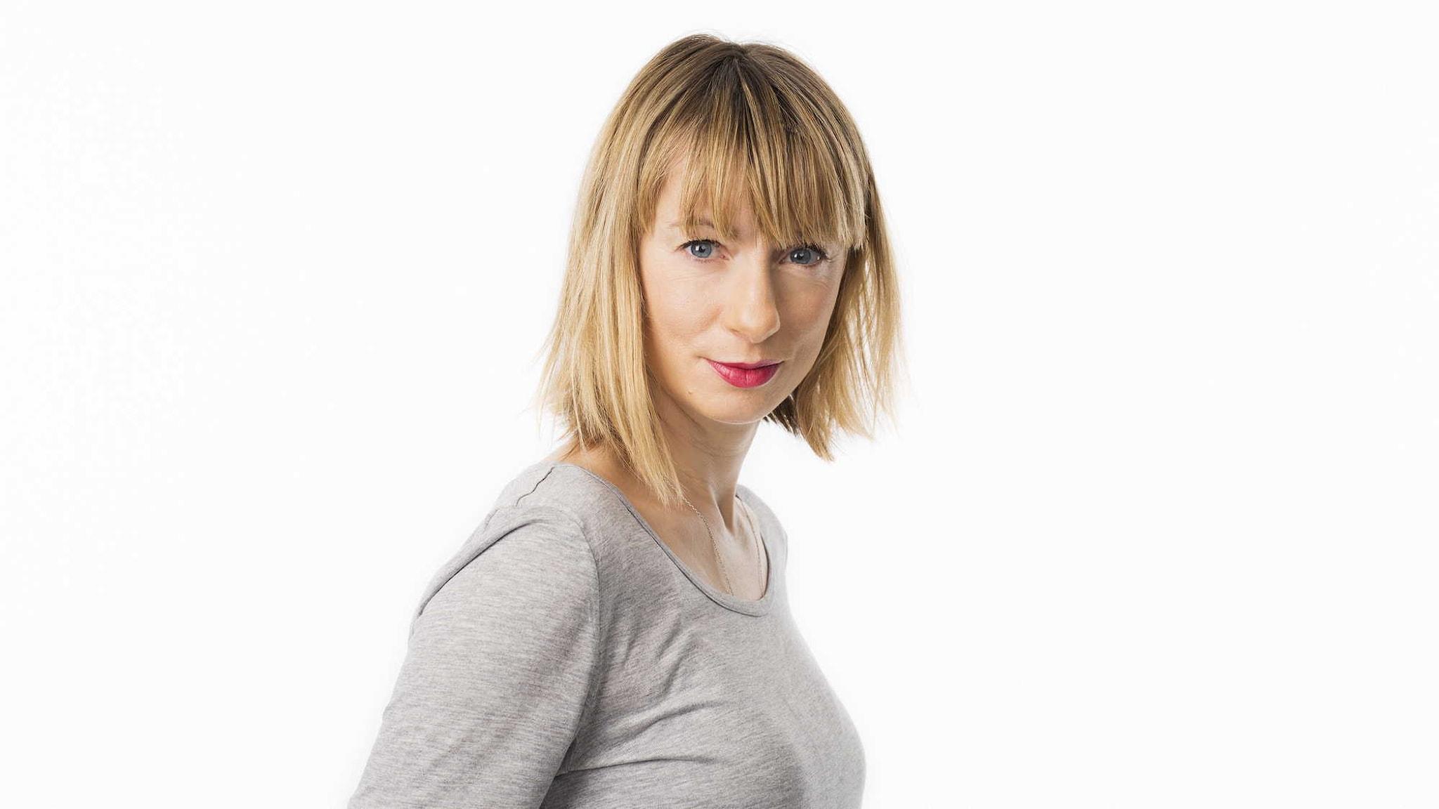 Lisa Bergström. Foto: Mattias Ahlm/Sveriges Radio.