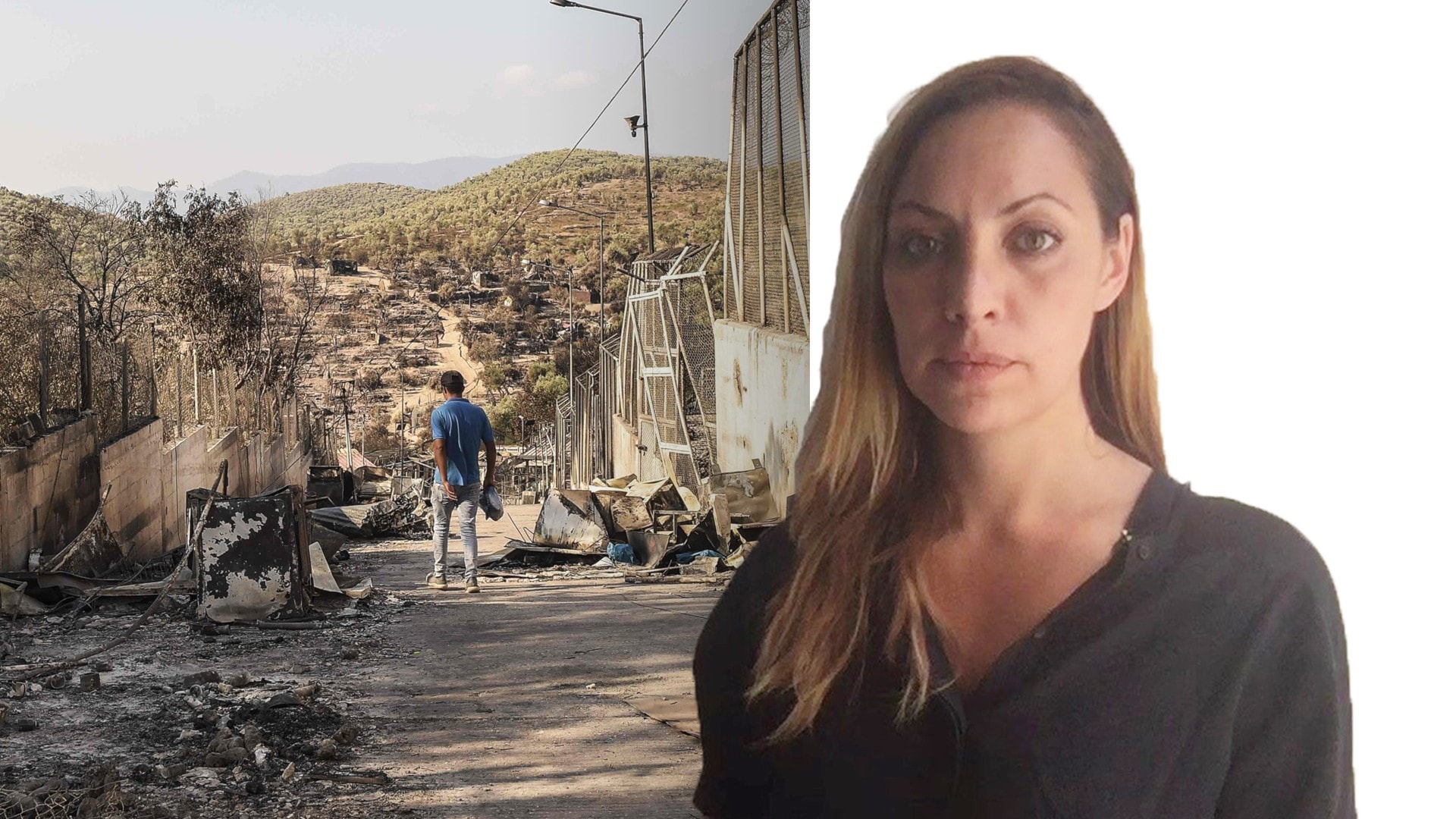 Jag är van att skämmas: Sofia Sofroniadou, Aten