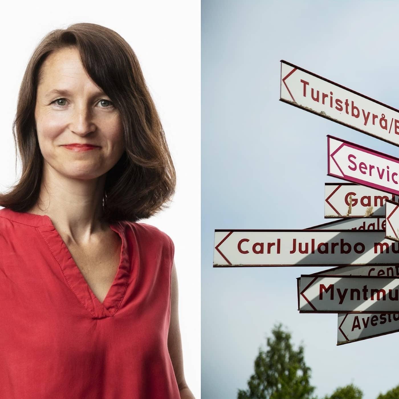Om lokalsinne, självförtroende och omvägar: Sara Heyman, Stockholm