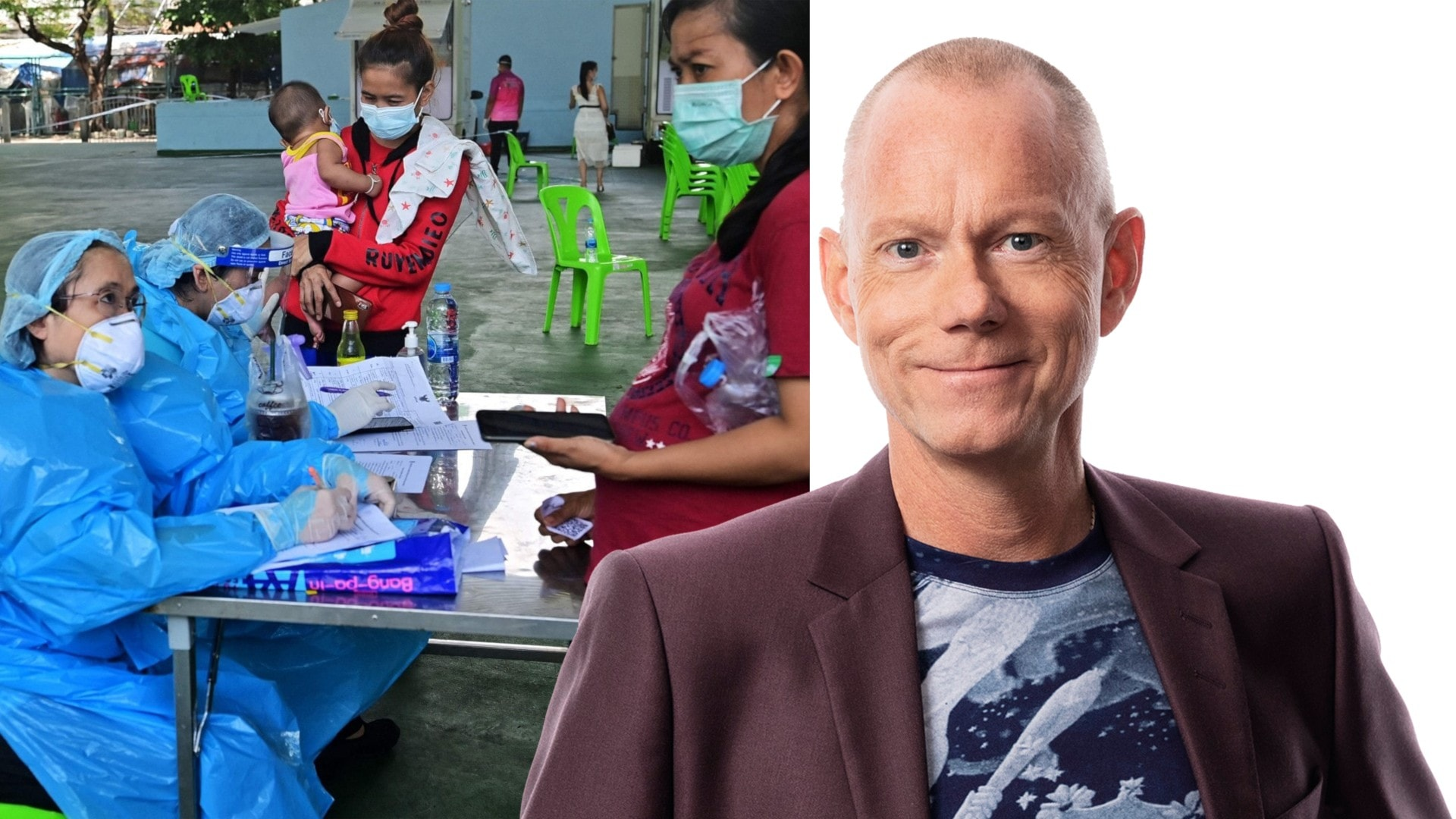 Underskatta aldrig en K-pop artists kraft: Peder Gustafsson, Bankok