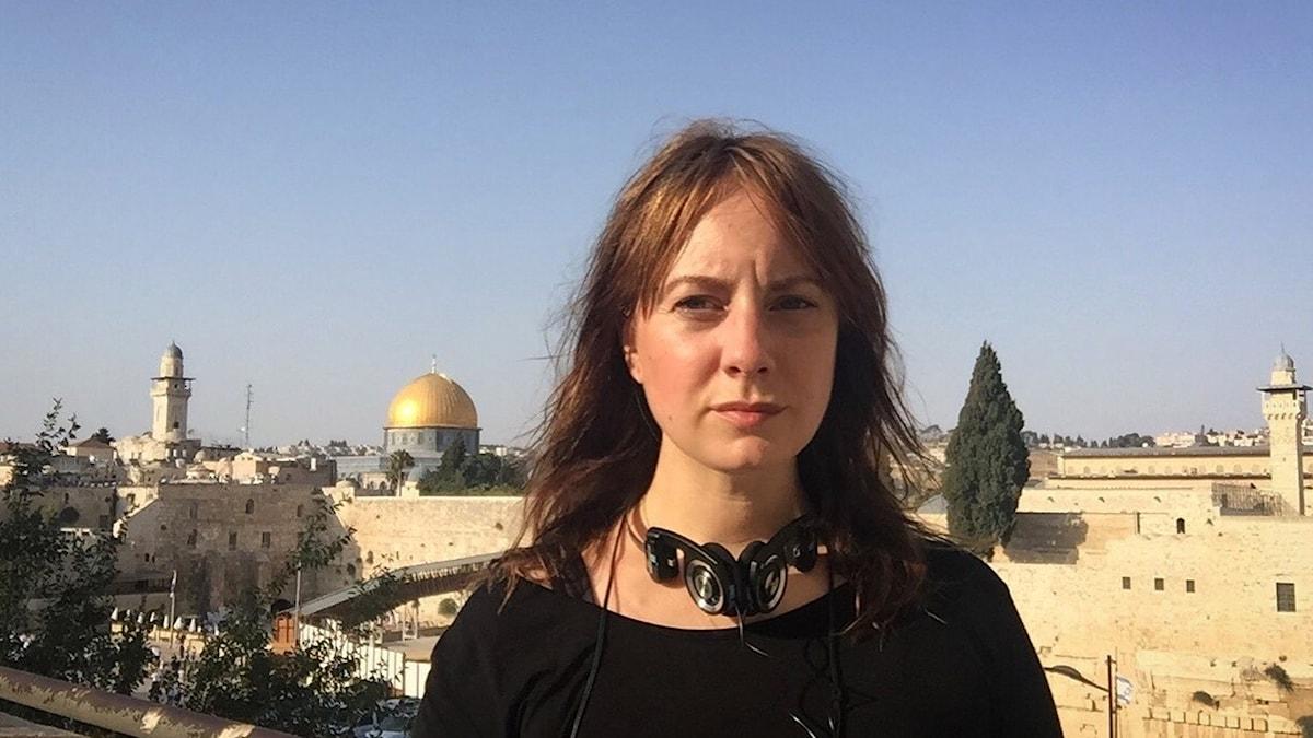 Stephanie Zakrisson i Jerusalem