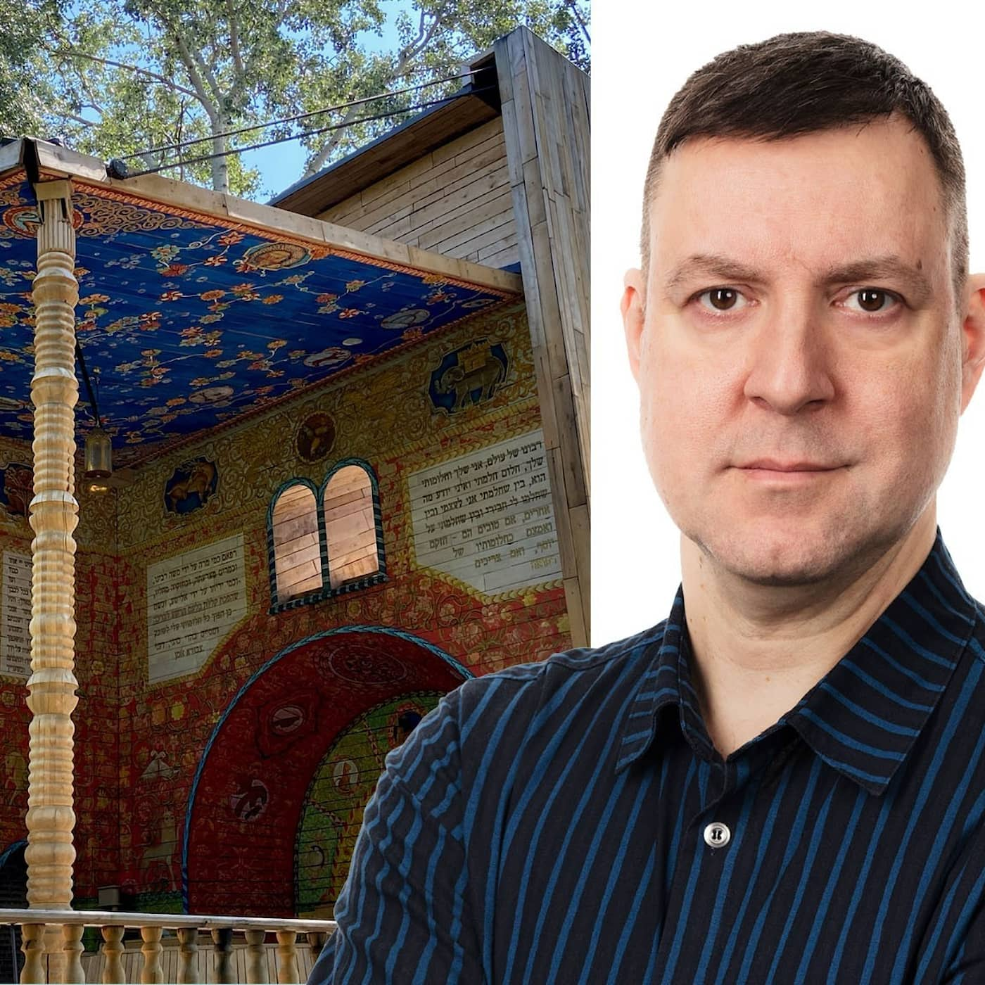 Bok hög som flervåningshus påminner om mörkt kapitel: Fredrik Wadström, Kiev
