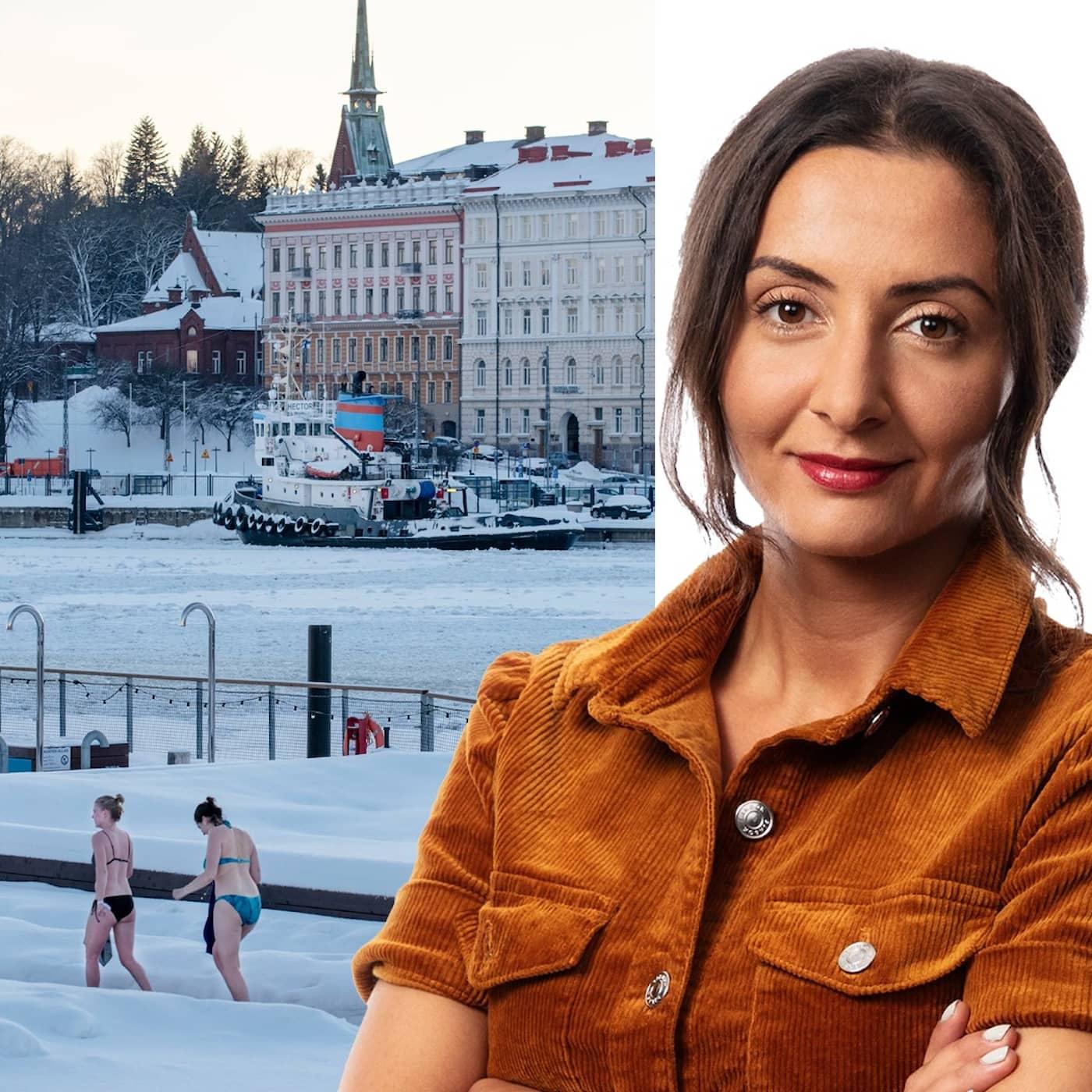Hur man vänder en dålig dag: Lubna El-Shanti, Helsingfors