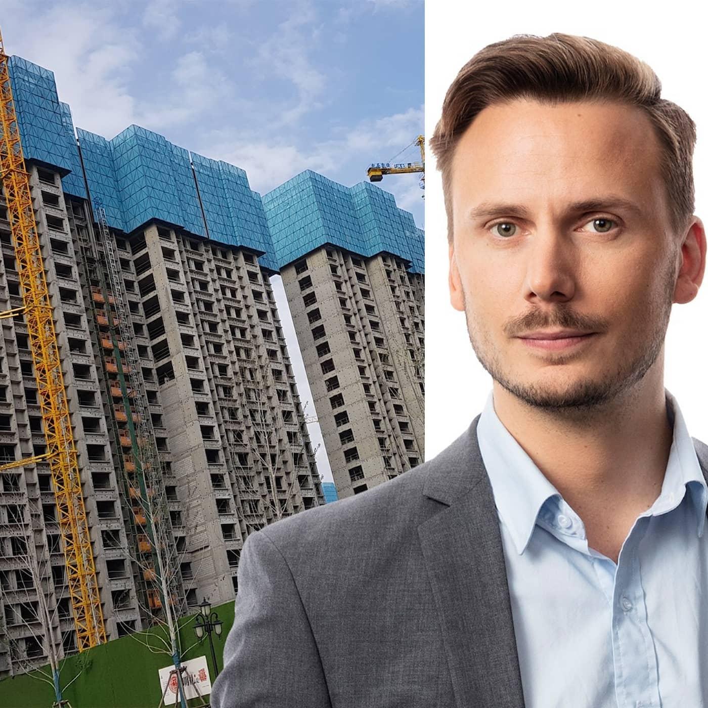 Kinas fastighetsbaksmälla: Björn Djurberg, Peking