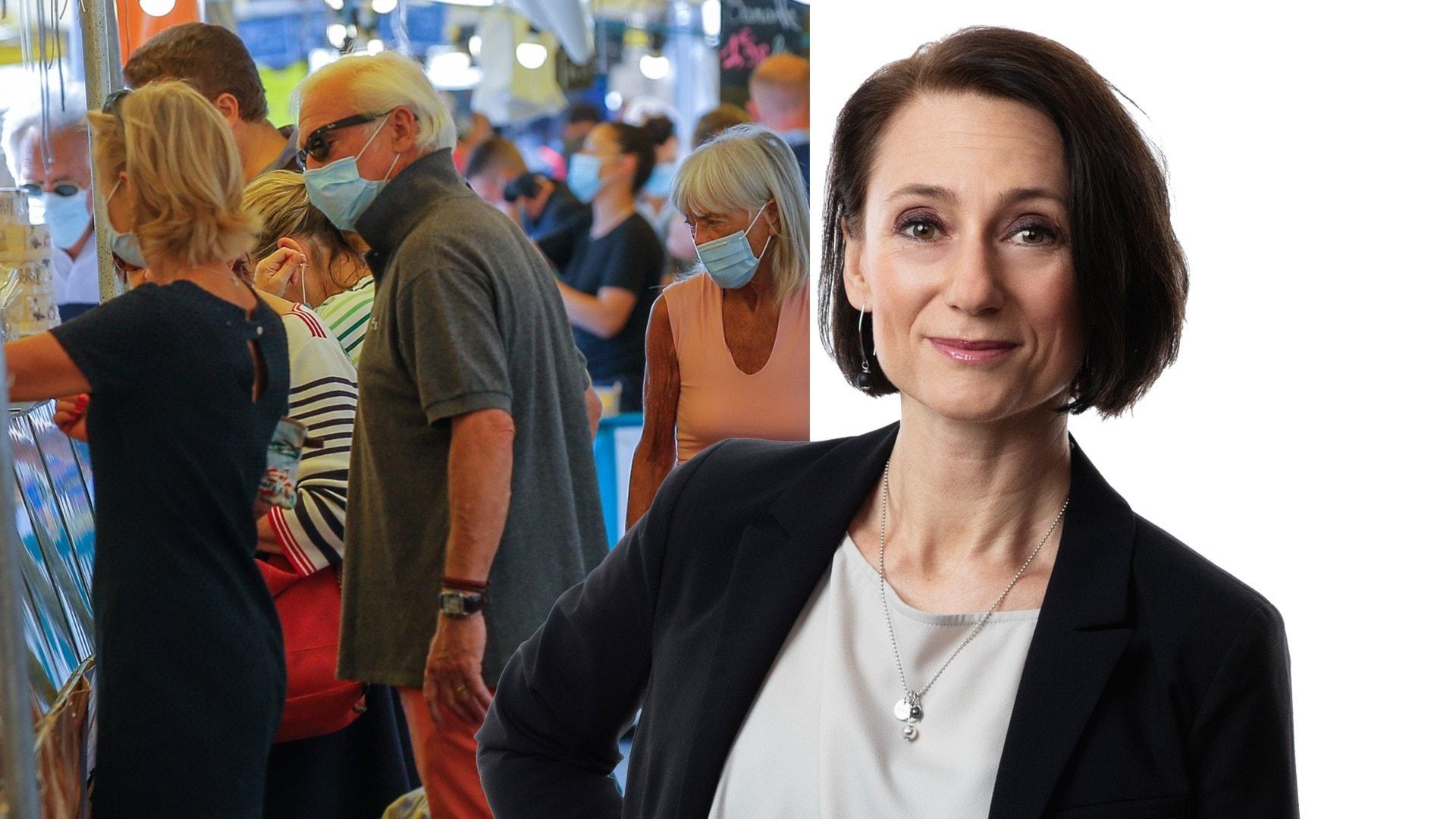 Rakt in i en pandemi: Marie Nilsson Boij, Paris