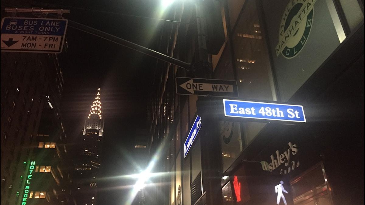 East 48th Street.