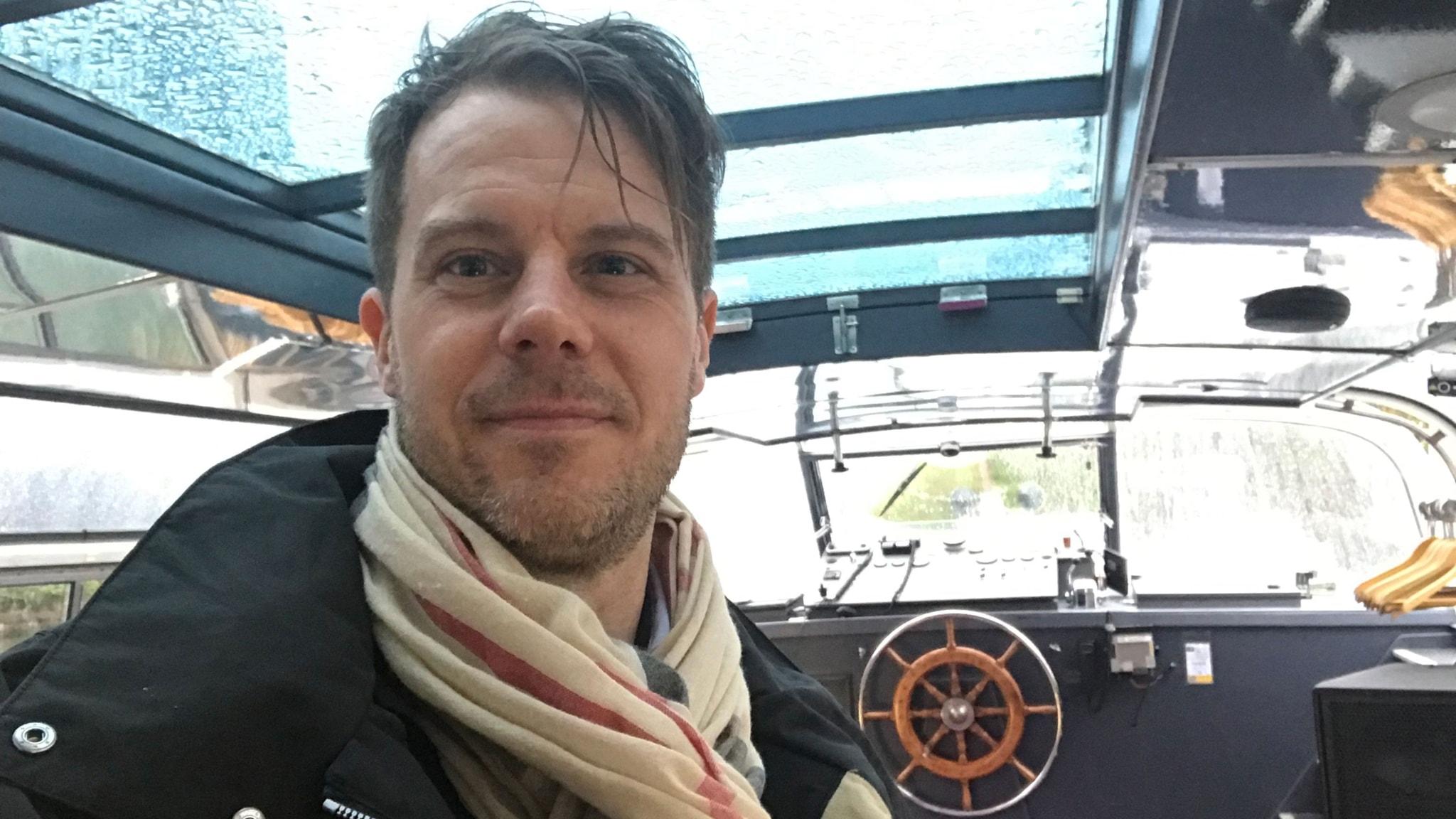 Selfies med Greta i EU-parlamentet: Ekots Andreas Liljeheden