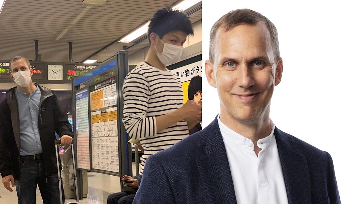 Johan Bergendorff i Tokyo