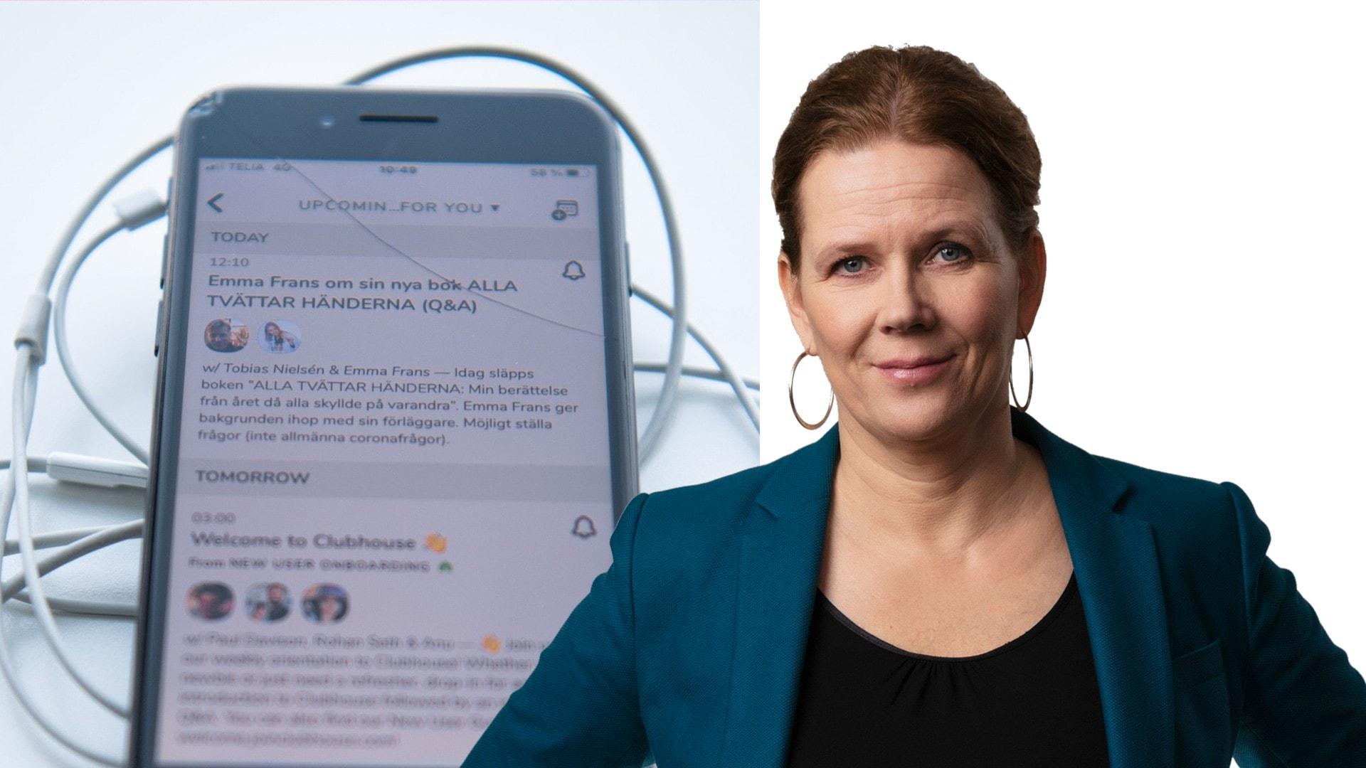 Underskatta aldrig kraften i ett förlösande skratt: Marie-Louise Kristola, Stockholm
