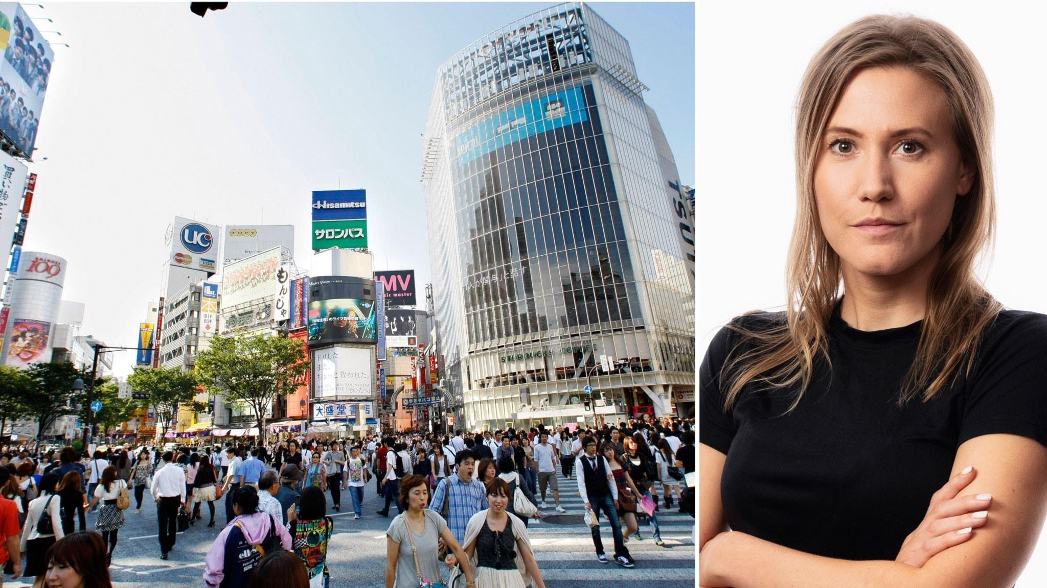 En resa till vett och etikett: Caroline Kernen, korrespondent med fokus på unga - spela