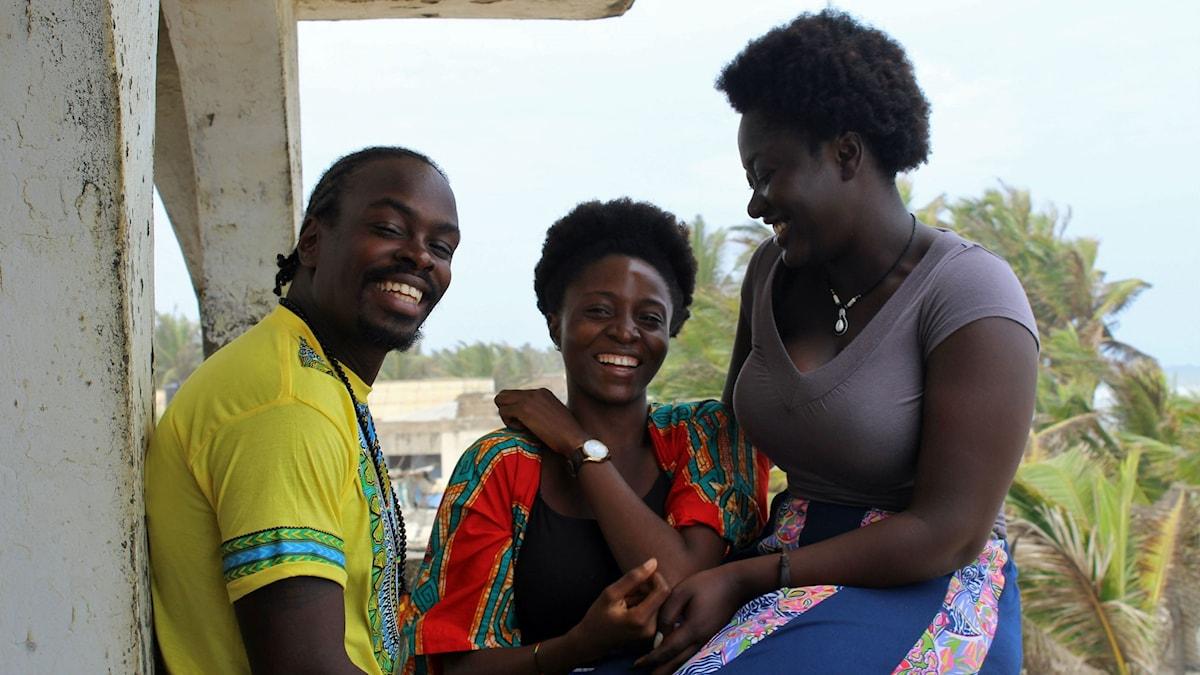 Stevie Nii-Adu Mensah, Taylor Meray och Amanda Kwakye är några av de som märkt av att kreativa yrken fått ett uppsving i Ghana.